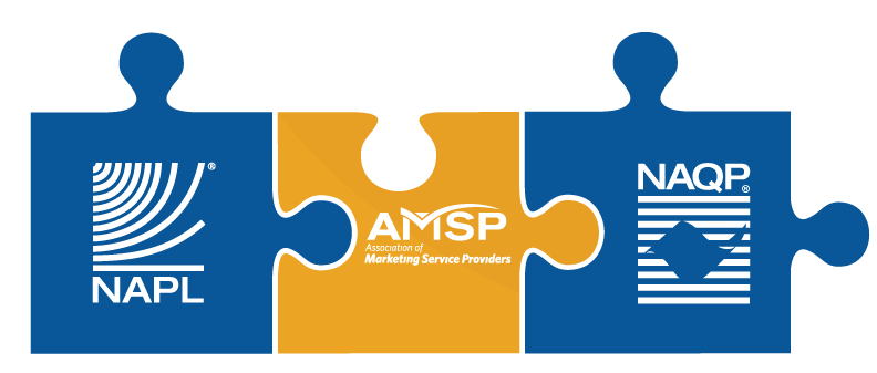 The Association of Marketing Service Providers (AMSP) is the national trade association for the mailing and fulfillment services industry.